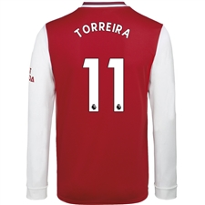 Adidas Arsenal 'TORREIRA 11' Home Long Sleeve Jersey '19-'20 (Scarlet)