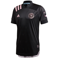 Adidas Inter Miami CF Secondary Authentic Jersey 2020 (Black/Clear Pink)