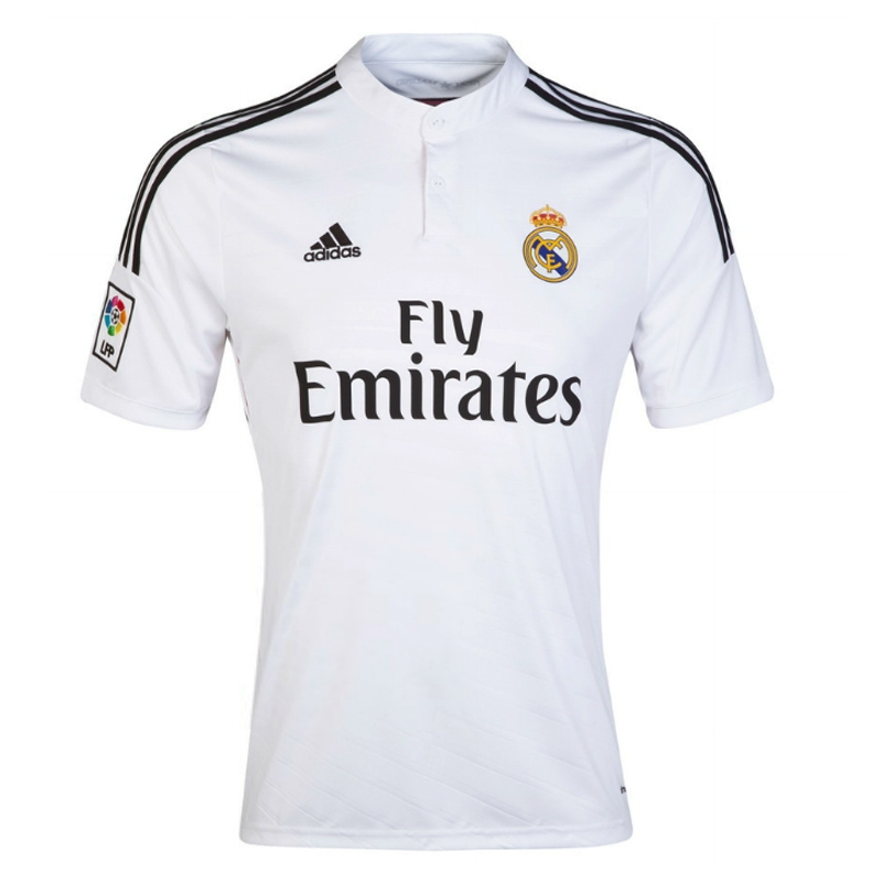 f1676678f Real Madrid  DI MARIA 22  Home  14- 15 Replica Soccer Jersey (White ...