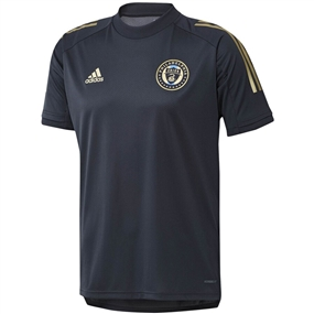 Adidas Philadelphia Union Training Jersey 2020 (Night Navy/Light Football Gold)