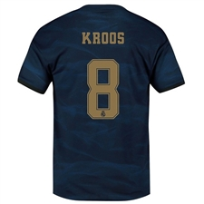 Adidas Real Madrid 'KROOS 8' Away Jersey '19-'20 (Night Indigo)