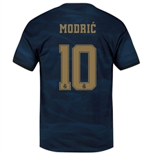 Adidas Real Madrid 'MODRIC 10' Away Jersey '19-'20 (Night Indigo)