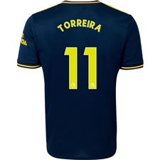 Adidas Arsenal 'TORREIRA 11' Third Jersey '19-'20 (Collegiate Navy)