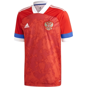 Adidas Russia Home Jersey 2020 (Team Collegiate Red)
