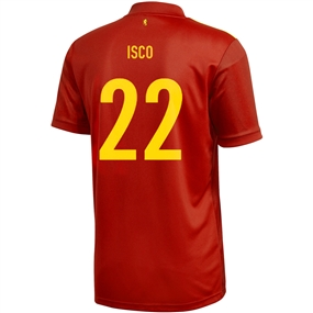 Adidas Spain 'ISCO 22' Home Jersey 2020 (Victory Red)