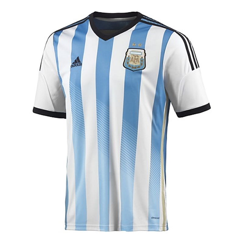 df39f790a0d SALE  44.95 - Adidas Argentina Home 2014 Replica Soccer Jersey ...