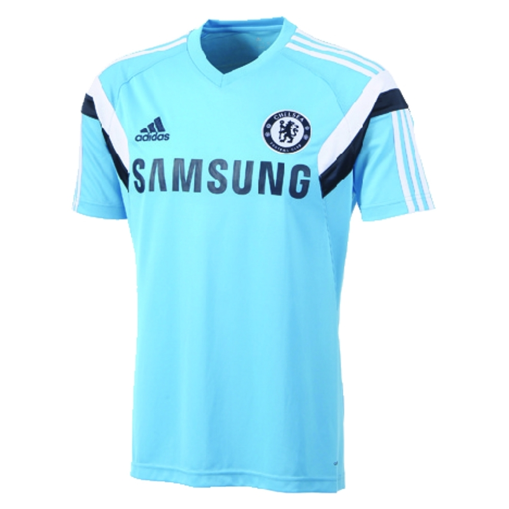44.99 - Adidas Chelsea 2014-2015 Soccer Training Jersey (Intense ... f9f9d2c45