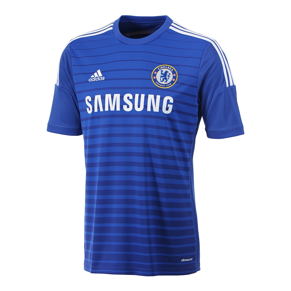 buy online f35bf f318b Adidas Chelsea Home '14-'15 Replica Soccer Jersey (Chelsea Blue/White)