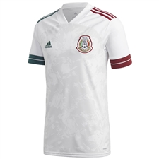 Adidas Mexico Away Jersey 2020 (White)