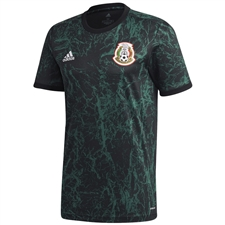Adidas Mexico Pre-Match Jersey 2020 (Collegiate Green/Black)