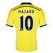 Adidas Chelsea 'HAZARD 10' Away '14-'15 Replica Soccer Jersey (Yellow/Chelsea Blue)