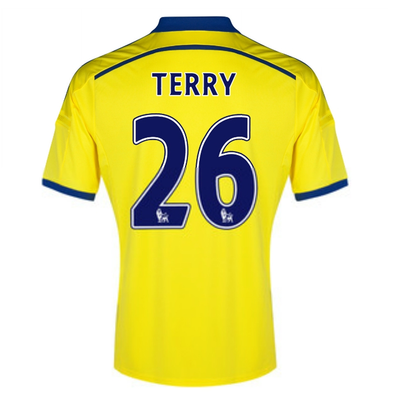 ccb394538ad Adidas Chelsea  TERRY 26  Away  14- 15 Replica Soccer Jersey (