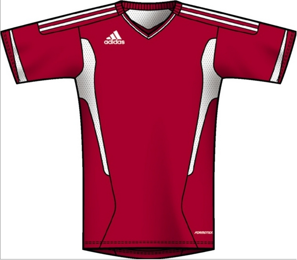 ca9683505b7 $49.49 - Adidas Campeon 11 Soccer Jersey (University Red/White ...