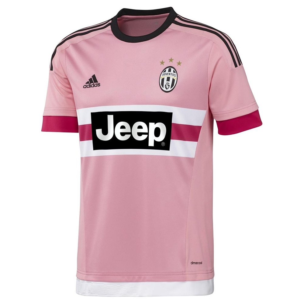 best website 91fae c3b12 Adidas Juventus 'POGBA 10' '15-'16 Away Soccer Jersey (Pink/Black/White)