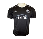 Adidas MLS Philadelphia Union 2013 Youth 3rd Call Up Jersey (Black/White/Grey)
