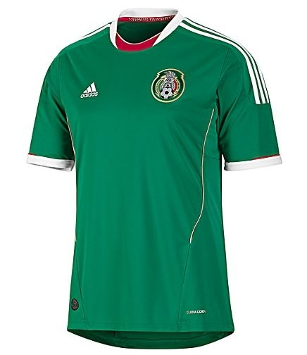 f31ae02365d Mexico 2011-2012 Home Jersey