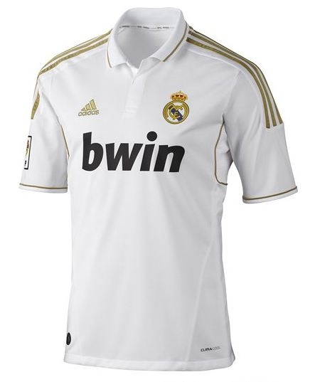 f966238c9 Real Madrid 2011-2012 Home Jersey