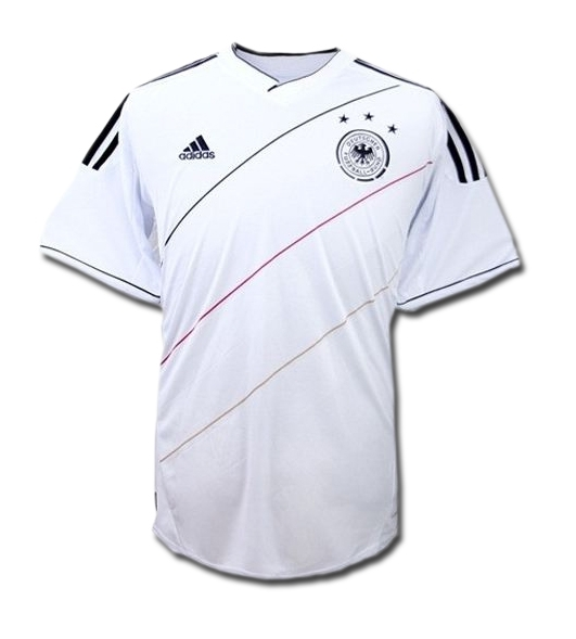 Adidas germany home 2011 2013 replica soccer jersey white for Germany mercedes benz soccer jersey