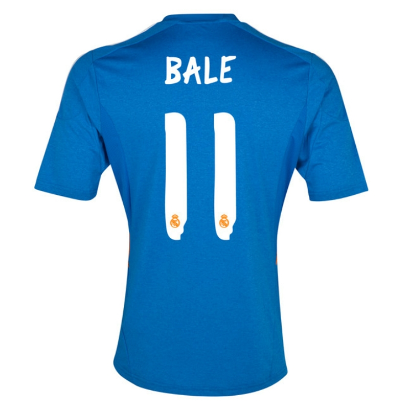 super popular 29a81 49579 Adidas Real Madrid 'BALE 11' Away '13-'14 Soccer Jersey (Blue)
