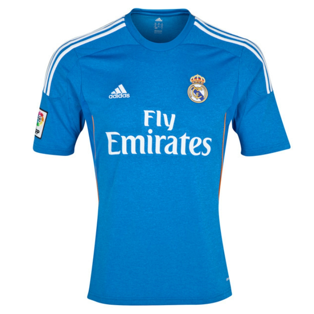 purchase cheap 7bd00 d8c10 Adidas Real Madrid 'RONALDO 7' Away '13-'14 Soccer Jersey (Blue)