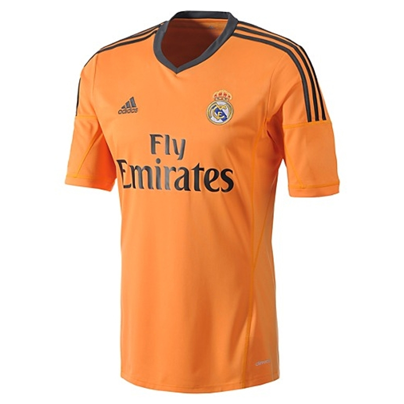 6127e4102 Adidas Real Madrid  BALE 11  Third  13- 14 Replica Soccer Jersey ...