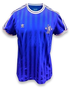 on sale a518d f17d7 Adidas Chelsea Retro CFC Soccer Jersey (Royal/White)