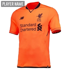 New Balance Liverpool Third '17-'18 Jersey (Bold Citrus)