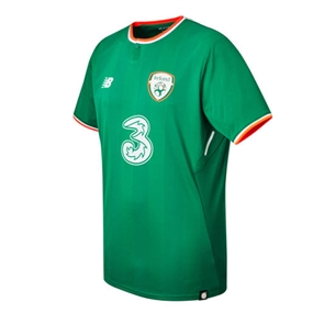 New Balance Ireland Home Jersey '17-'18 (Jolly Green)