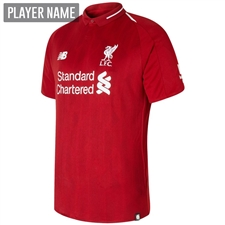 New Balance Liverpool Home Jersey '18-'19 (Red Pepper)