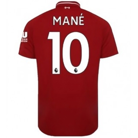 New Balance Liverpool 'MANE 10' Home Jersey '18-'19 (Red Pepper)
