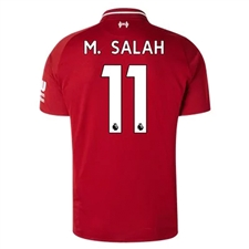 New Balance Liverpool 'M. SALAH 11' Home Jersey '18-'19 (Red Pepper)