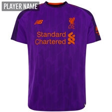New Balance Liverpool Away Jersey '18-'19 (Deep Violet)