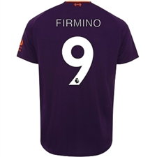 New Balance Liverpool 'FIRMINO 9' Away Jersey '18-'19 (Deep Violet)