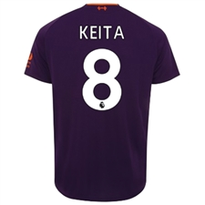 New Balance Liverpool 'KEITA 8' Away Jersey '18-'19 (Deep Violet)