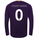 New Balance Liverpool 'CUSTOM' Away Long Sleeve Jersey '18-'19 (Deep Violet)
