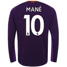 New Balance Liverpool 'MANE 19' Away Long Sleeve Jersey '18-'19 (Deep Violet)