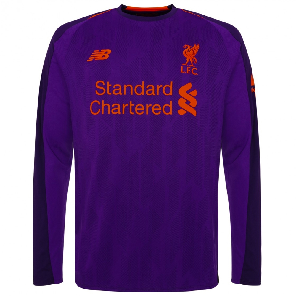 new balance liverpool mane 10 away long sleeve jersey