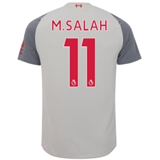 New Balance Liverpool 'M. SALAH 11' Third Jersey '18-'19 (Grey)