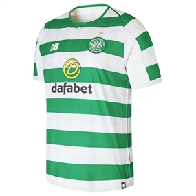 New Balance Celtic FC Home Jersey '18-'19 (White/Celtic Green)