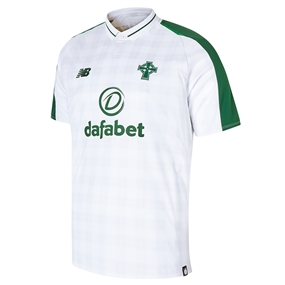 New Balance Celtic FC Away Jersey '18-'19 (White/Green)