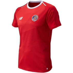 New Balance Costa Rica Home Jersey (Heather Red)