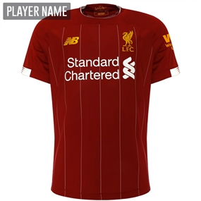 New Balance Liverpool Home Jersey '19-'20 (Red Pepper/White)