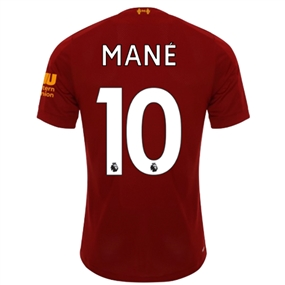 New Balance Liverpool 'MANE 10' Home Jersey '19-'20 (Red Pepper/White)