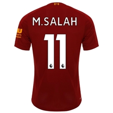 New Balance Liverpool 'M. SALAH 11' Home Jersey '19-'20 (Red Pepper/White)