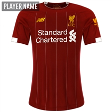 New Balance Liverpool Home Elite Jersey '19-'20 (Red Pepper/White)