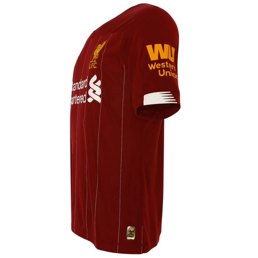 a2938336478 New Balance Liverpool Home Elite Jersey  19- 20 (Red Pepper White ...