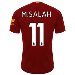 New Balance Liverpool 'M. SALAH 11' Home Elite Jersey '19-'20 (Red Pepper/White)