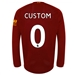 New Balance Liverpool 'CUSTOM' Long Sleeve Home Jersey '19-'20 (Red Pepper/White)