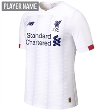 New Balance Liverpool Away Jersey '19-'20 (White/Navy/Team Red)