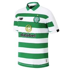 New Balance Celtic FC Home Jersey '19-'20 (White/Celtic Green)